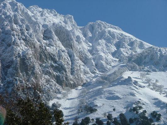 Ogni anno la neve nelle alte Madonie