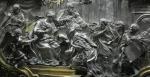 duomo di Messina : ambasceria di messinesi a Gerusalemme presso la Madonna ancora vivente