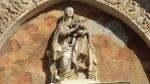 Particolare della facciata del duomo di Messina